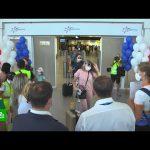 Аэропорт Крыма впервые за последние 10 лет принял прямой рейс из Владивостока