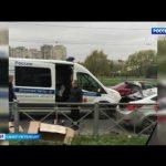 Тело таксиста обнаружили полицейские в угнанном автомобиле