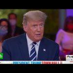 Предвыборное интервью Трампа переросло в перепалку