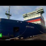 Самый мощный в мире ледокол введен в строй в РФ