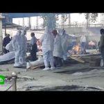 В Индии неплатежеспособные семьи сбрасывают тела умерших от COVD-19 в воды Ганга