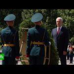 Шойгу и Собянин возложили венки к Могиле Неизвестного Солдата
